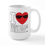 I Love West Palm Beach Mugs