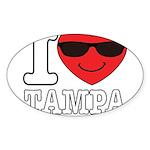 I Love Tampa Sticker