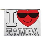 I Love Tampa Makeup Bag