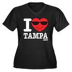I Love Tampa Plus Size T-Shirt