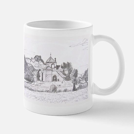 Castle By The Lake Mug