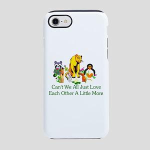 Peace Animals iPhone 8/7 Tough Case