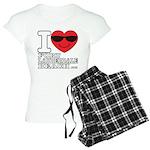 I Love Fort Lauderdale Beach Pajamas