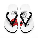 I Love Fort Lauderdale Beach Flip Flops
