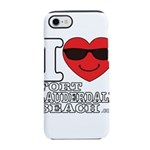 I Love Fort Lauderdale Beach iPhone 8/7 Tough Case
