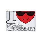 I Love Fort Lauderdale Beach Makeup Bag