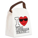 I Love Fort Lauderdale Beach Canvas Lunch Bag