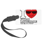 I Love Fort Lauderdale Beach Luggage Tag