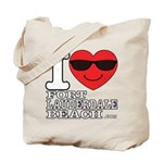 I Love Fort Lauderdale Beach Tote Bag
