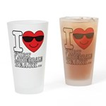 I Love Fort Lauderdale Beach Drinking Glass