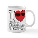 I Love Fort Lauderdale Beach Mugs
