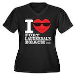 I Love Fort Lauderdale Beach Plus Size T-Shirt