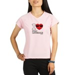 I Love Fort Lauderdale Performance Dry T-Shirt