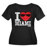 I Love Miami Plus Size T-Shirt