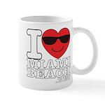 I Love Miami Beach Mugs