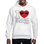 I Love Miami Beach Sweatshirt