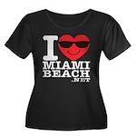 I Love Miami Beach Plus Size T-Shirt