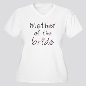 Sweet Mother of the Bride Women's Plus Size V-Neck