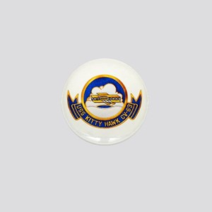 USS Kitty Hawk CV-63 Mini Button