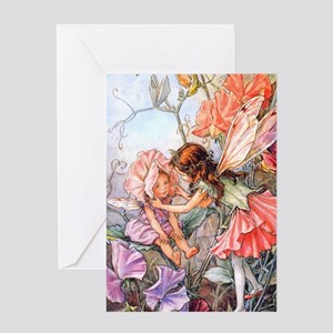 SWEET PEA FAIRY II Greeting Card