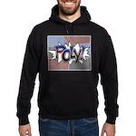 Halftone Poly Typography Sweatshirt