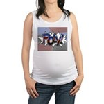 Halftone Poly Typography Tank Top