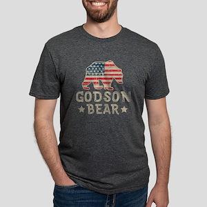 USA Godson Mens Tri-blend T-Shirt