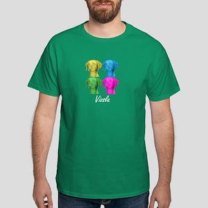Vizsla in Color Dark T-Shirt