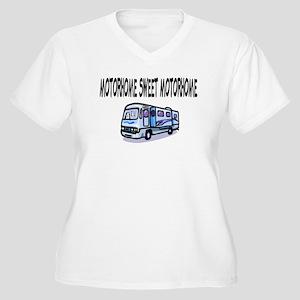 Motorhome Sweet Motorhome Women's Plus Size V-Neck