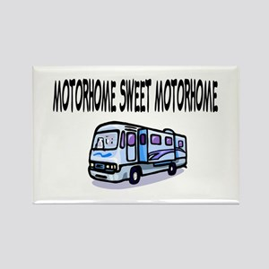 Motorhome Sweet Motorhome Rectangle Magnet