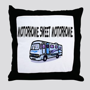 Motorhome Sweet Motorhome Throw Pillow