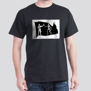 Black Bart Roberts Pirate White T-Shirt