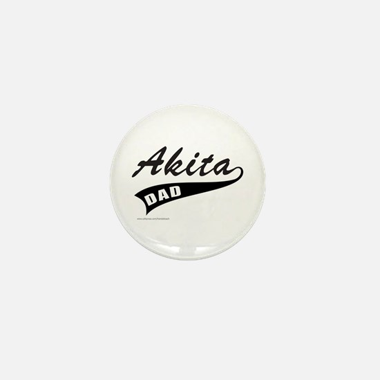 AKITA DAD Mini Button