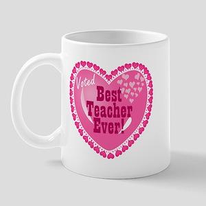 Voted Best Teacher EVER Mug