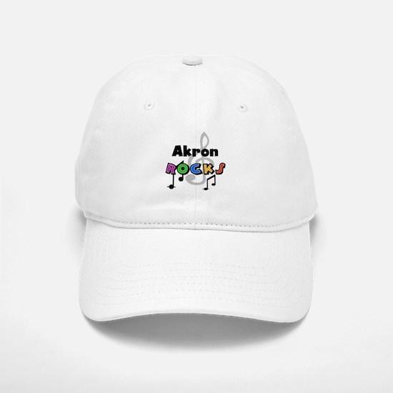 Akron Rocks Baseball Baseball Cap