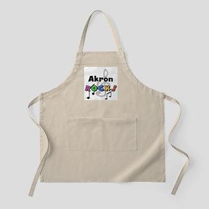 Akron Rocks BBQ Apron