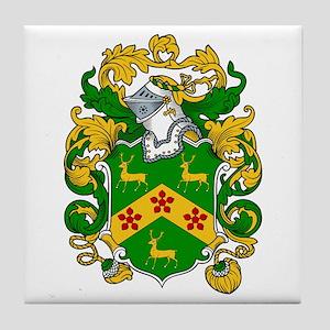 Robinson Family Crest Tile Coaster