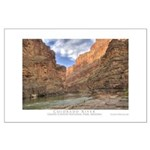 Grand Canyon/Colorado River Large Poster