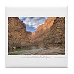 Grand Canyon/Colorado River Tile Coaster