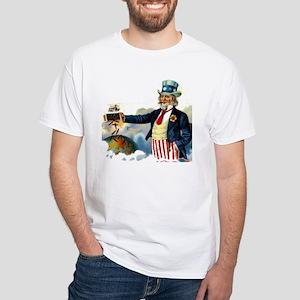 Uncle Sam Cigars White T-Shirt
