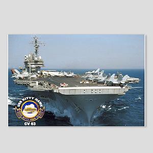 USS Kitty Hawk CV-63 Postcards (Package of 8)