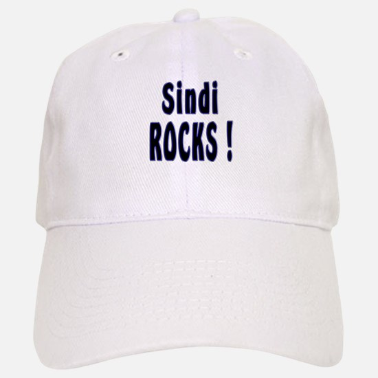 Sindi Rocks ! Baseball Baseball Cap