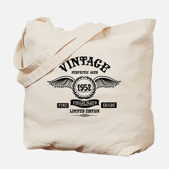 Vintage Perfectly Aged 1952 Tote Bag