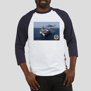 USS John F. Kennedy CV-67 Baseball Jersey