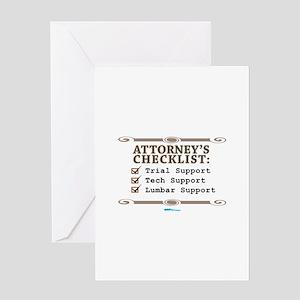 Checklist #4 Greeting Card
