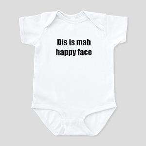 Mah Happy Face Infant Bodysuit