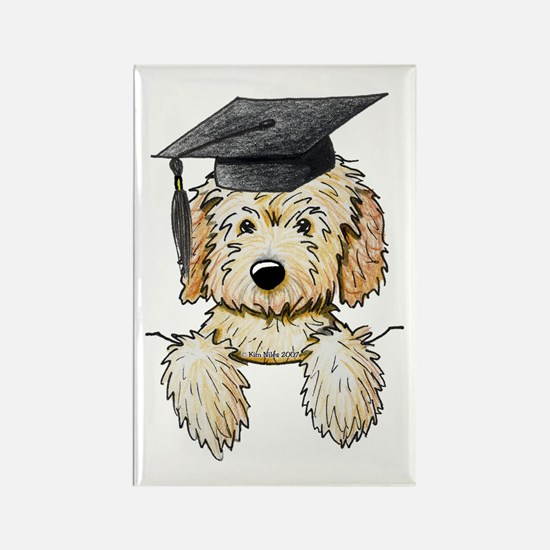 Graduation Pkt. Doodle Rectangle Magnet (100 pack)