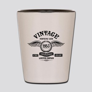 Vintage Perfectly Aged 1953 Shot Glass