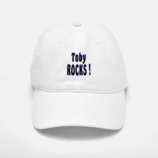 Toby Rocks ! Baseball Baseball Cap