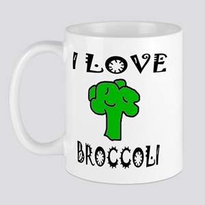 I Love Broccoli Mug